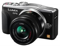 Panasonic Lumix DMC-GF6 + Lumix G Vario 14-42mm f/3.5-5.6 Mega O.I.S., �ierny kit