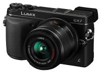 Panasonic Lumix DMC-GX7 + Lumix G Vario 14-42mm f/3.5-5.6 Mega O.I.S., �ierny kit
