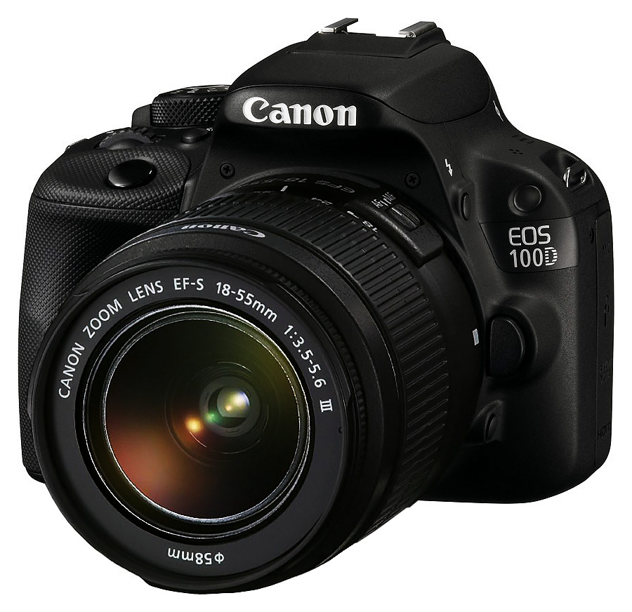 Canon EOS 100D + EF-S 18-55mm f/3.5-5.6 DC III + CASHBACK 50€