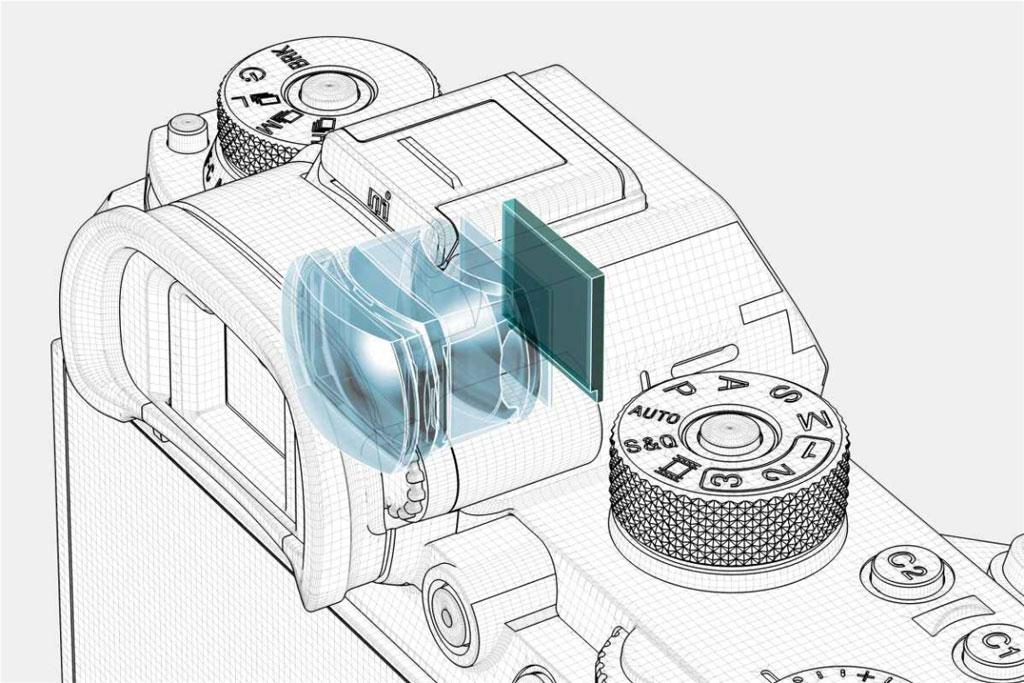 Sony Alpha A9 Hľadáčik