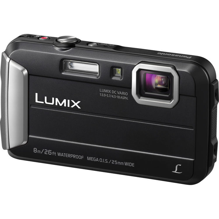Panasonic Lumix DMC-FT30, Čierny