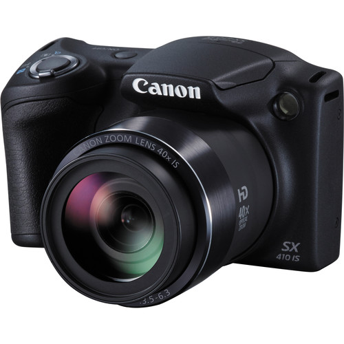 Canon PowerShot SX410 IS, Čierny