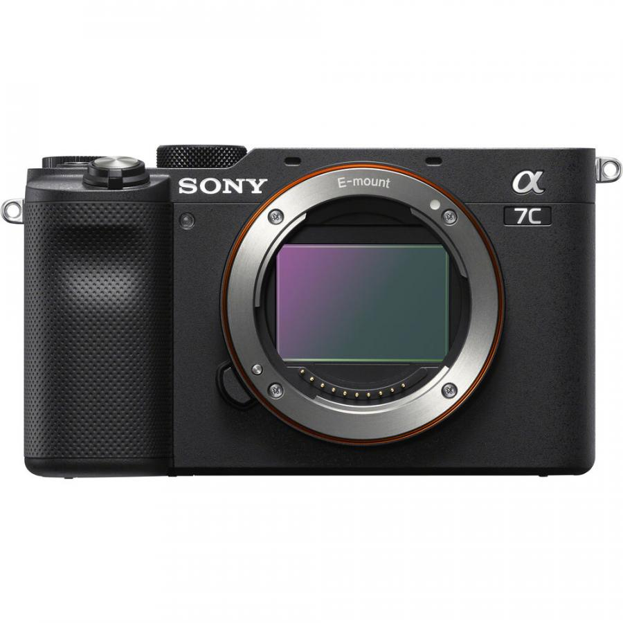 Sony Alpha A7C - Telo, čierne
