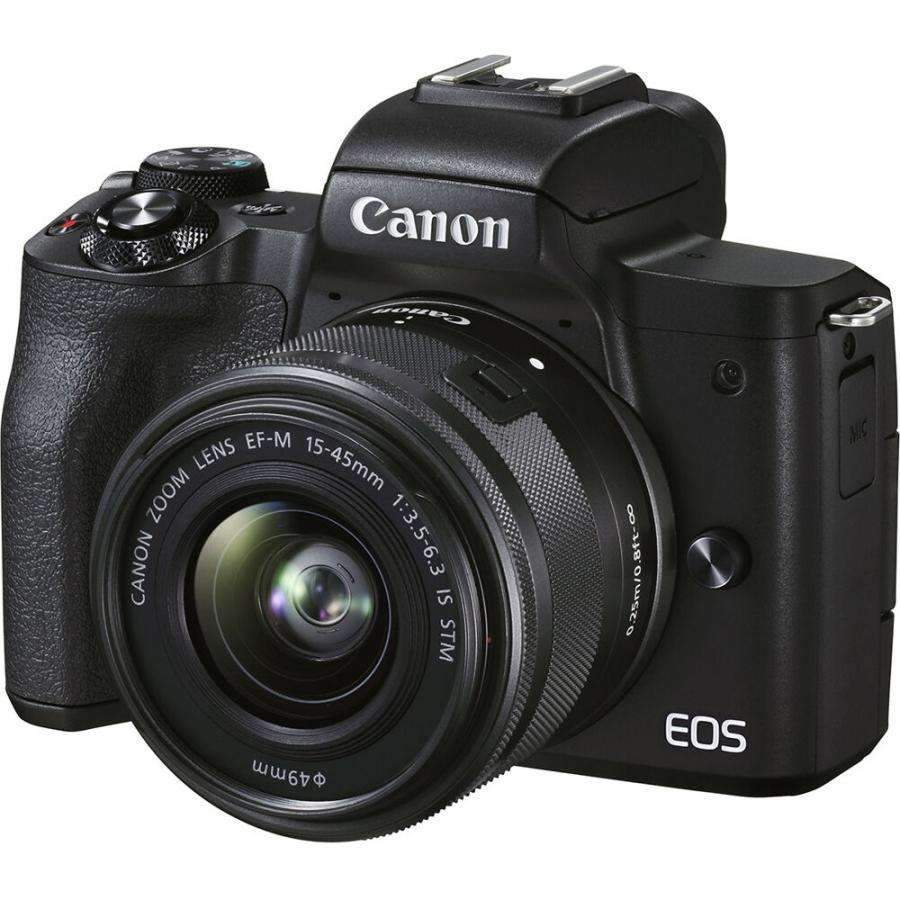 Canon EOS M50 Mark II + EF-M 15-45mm f/3.5-6.3 IS STM + Cashback 30 €