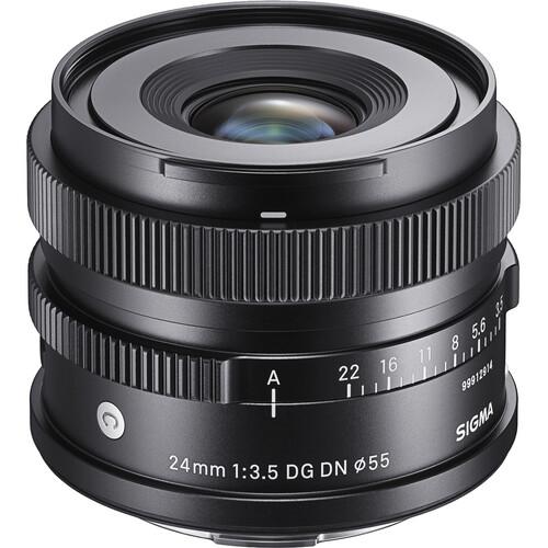 Sigma 24mm F3.5 DG DN   Contemporary I series pre Sony E