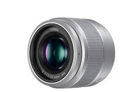 Panasonic Lumix G 25mm f/1.7 ASPH. strieborný