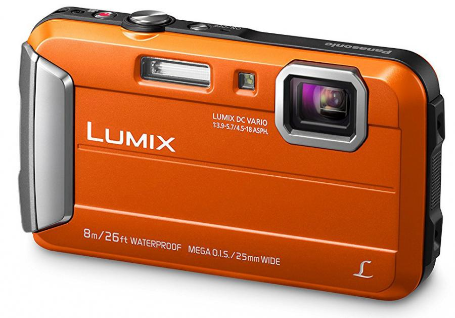 Panasonic Lumix DMC-FT30, Oranžový