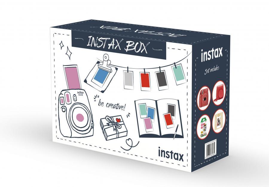 Fujifilm Instax Box Big Mini 9, POPPY RED