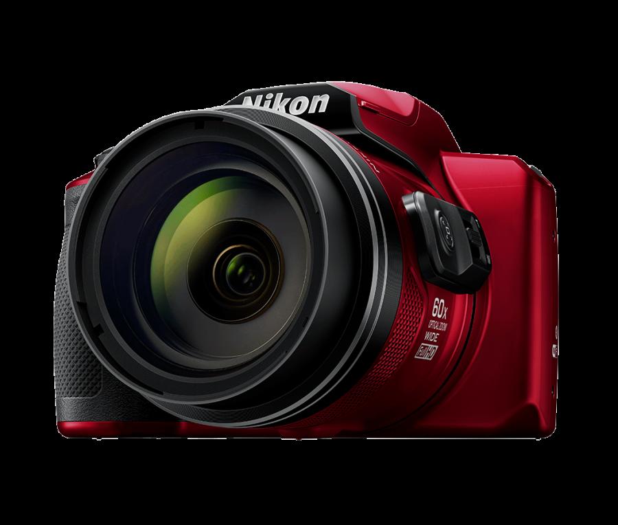 Nikon CoolPix B600, Červený