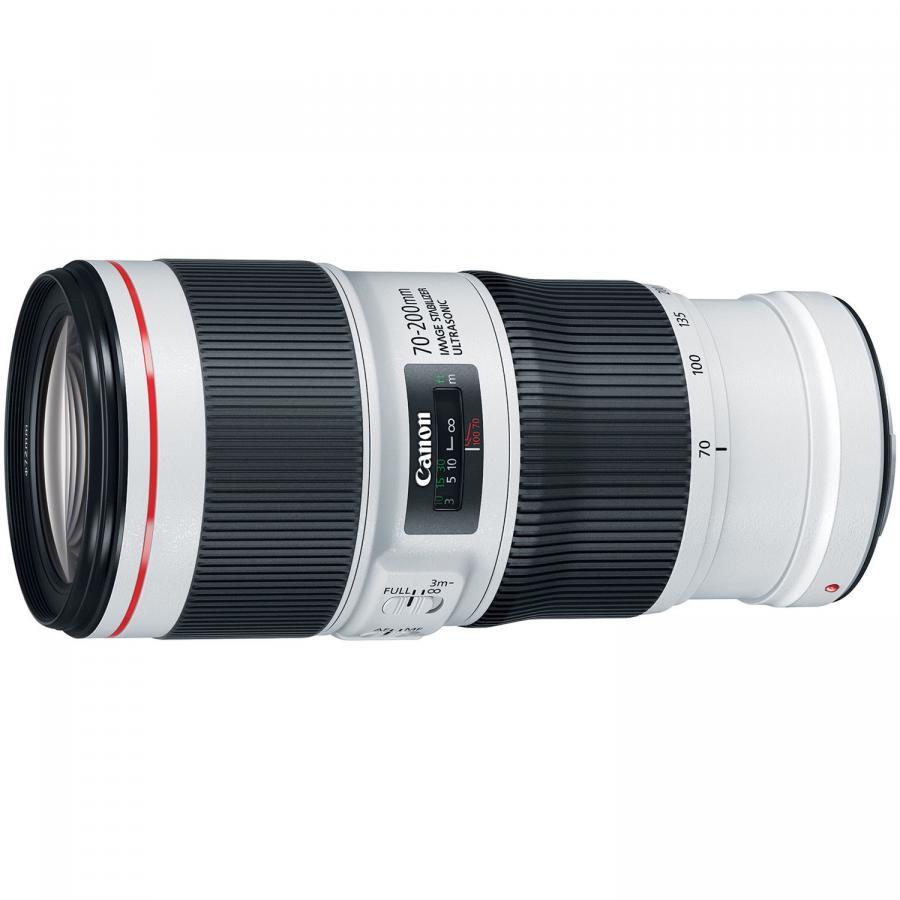 Canon EF 70-200mm f/4L IS II USM + Cashback 150 €