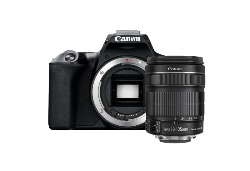 Canon EOS 250D + EF-S 18-135mm f/3,5-5,6 IS STM čierne