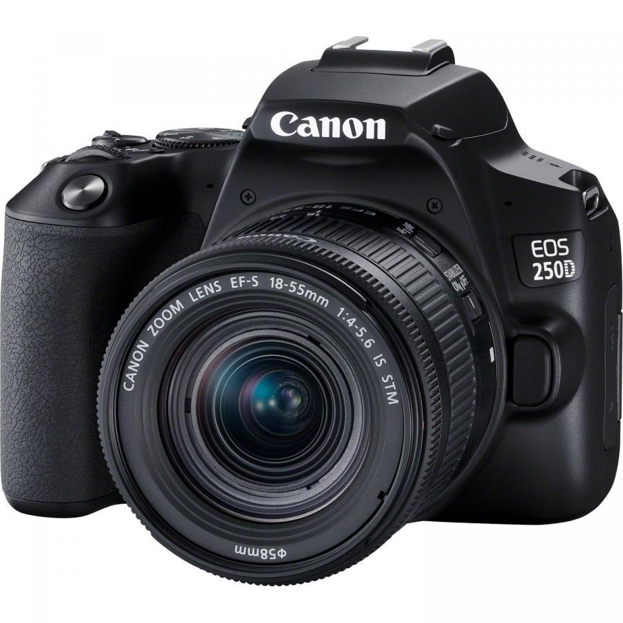 Canon EOS 250D + EF-S 18-55mm f/4-5,6 IS STM CP čierne + Cashback 60 €