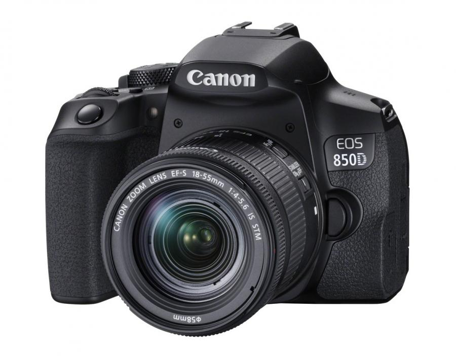 Canon EOS 850D + EF-S 18-55mm f/4-5.6 IS STM + Cashback 100 €