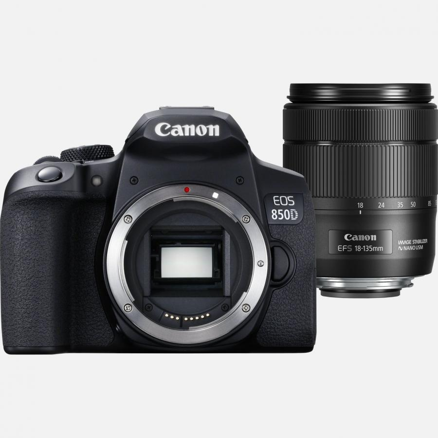 Canon EOS 850D + EF-S 18-135mm f/3.5-5.6 IS USM + Cashback 100 €