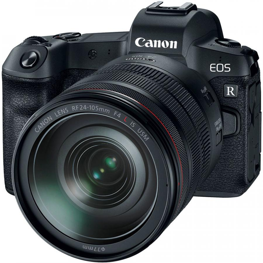 Canon EOS R+RF 24-105mm f/4L IS USM+MT adapter EF-EOS R+Battery Grip BG-E22+CASHBACK 350 €