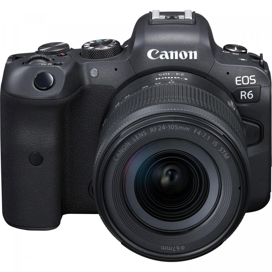 Canon EOS R6 + Canon RF 24-105mm f/4-7.1 STM + Cashback 250 €