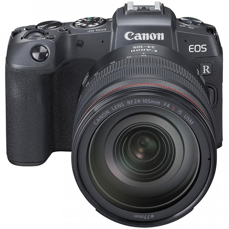 Canon EOS RP + RF 24-105mm f/4 L IS USM + MT adapter EF-EOS R