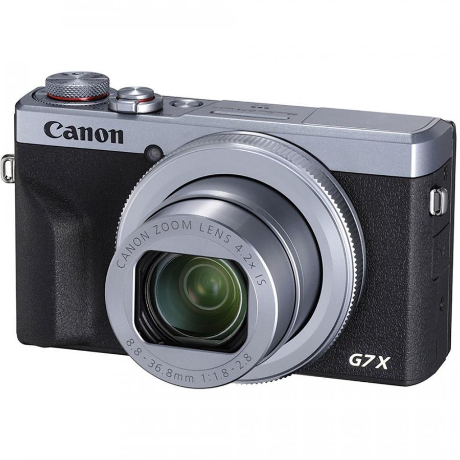 Canon PowerShot G7 X Mark III strieborná