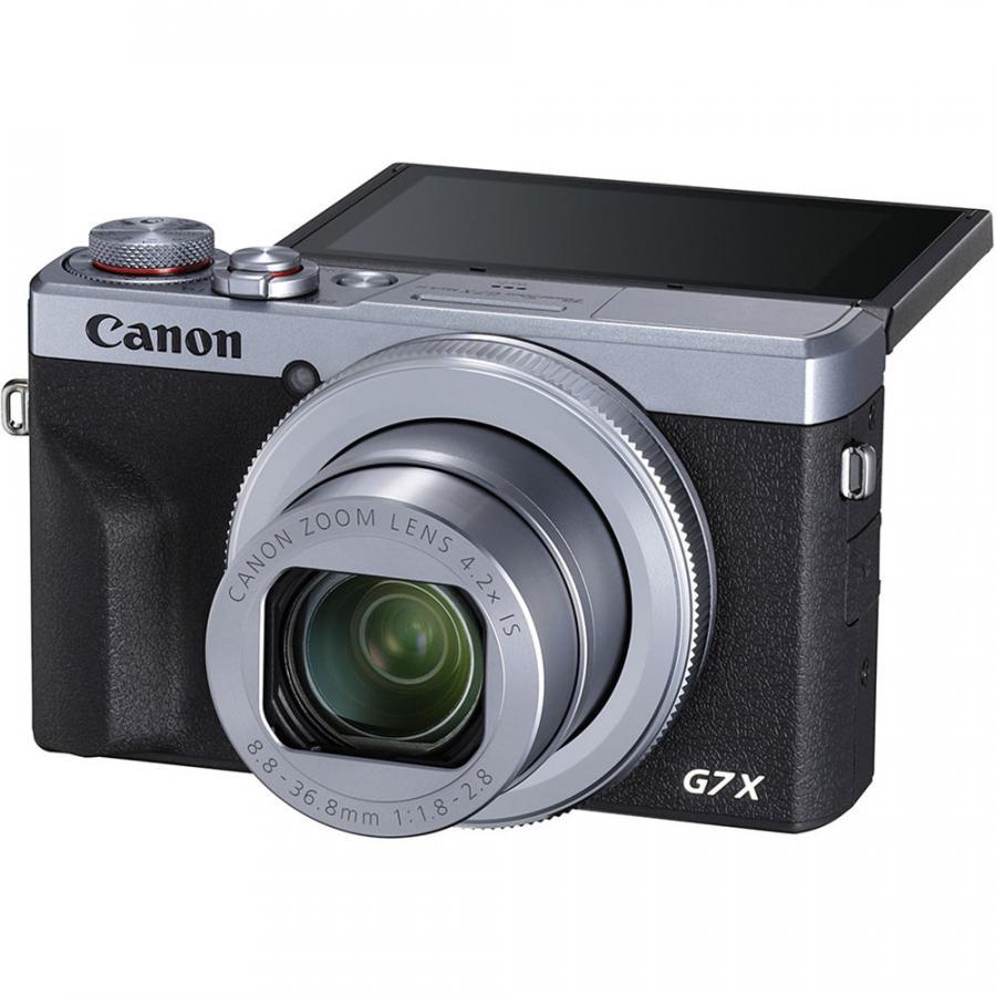 Canon PowerShot G7 X Mk. III strieborná