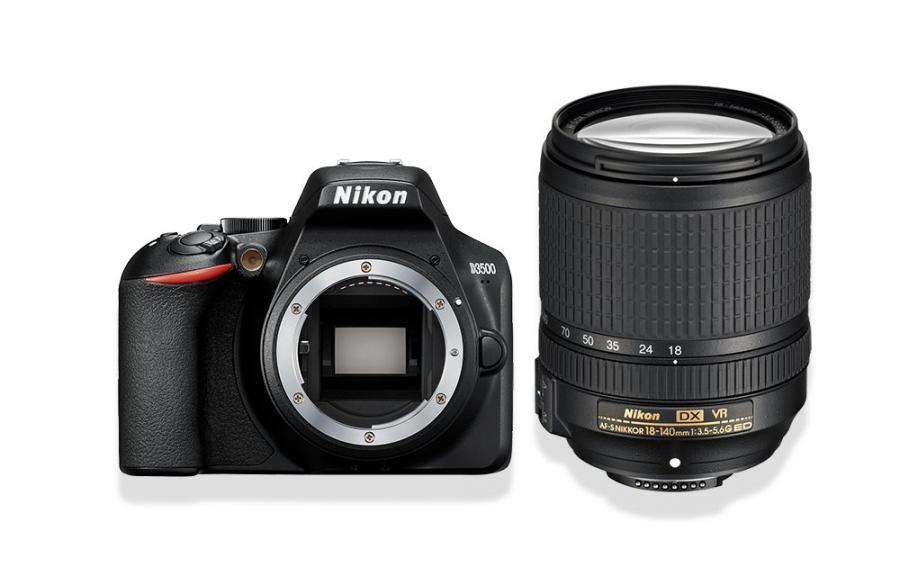 Nikon D3500 + AF-S DX Nikkor 18-140 /3.5-5.6G ED VR + 4x Čistenie a fotokurz