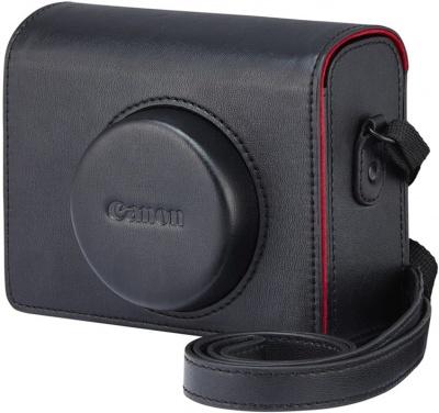 Canon DCC-1830 Kožené puzdro pre PowerShot G1X Mark III, Čierne