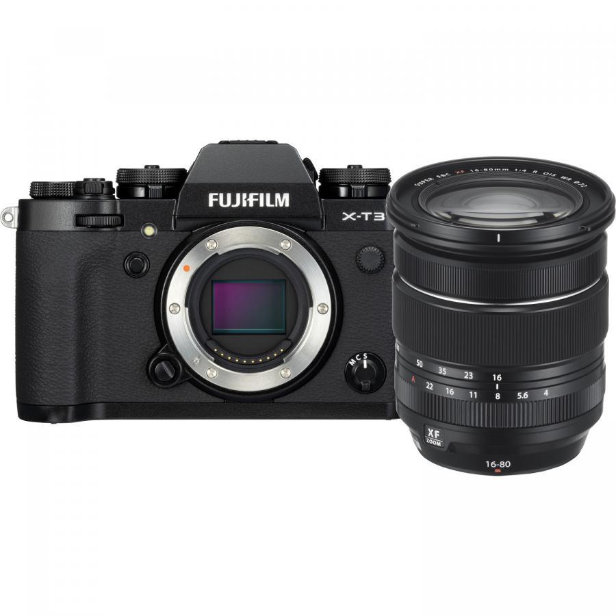 Fujifilm X-T3 + Fujinon XF 16-80mm f/4 R O.I.S. WR, Čierny