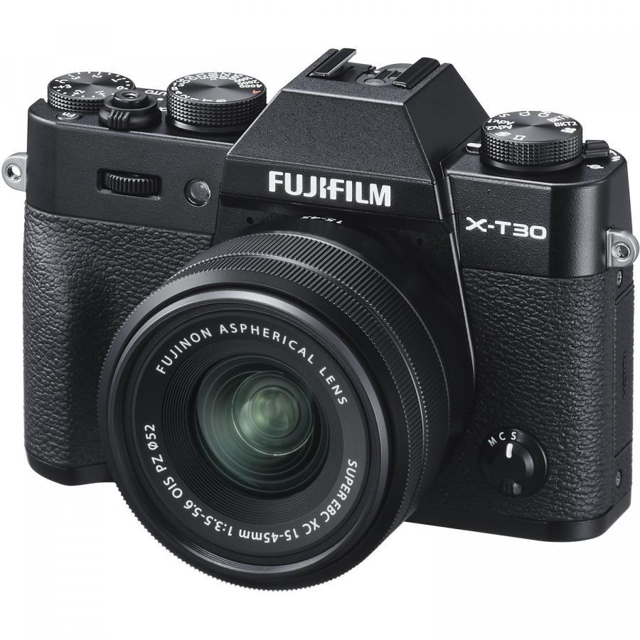 Fujifilm X-T30 + Fujinon XC 15-45mm f/3,5-5,6 OIS PZ, Čierne.