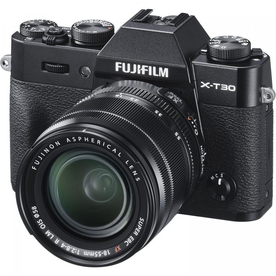 Fujifilm X-T30 + Fujinon XF 18-55mm f/2,8-4 R LM OIS, Čierne