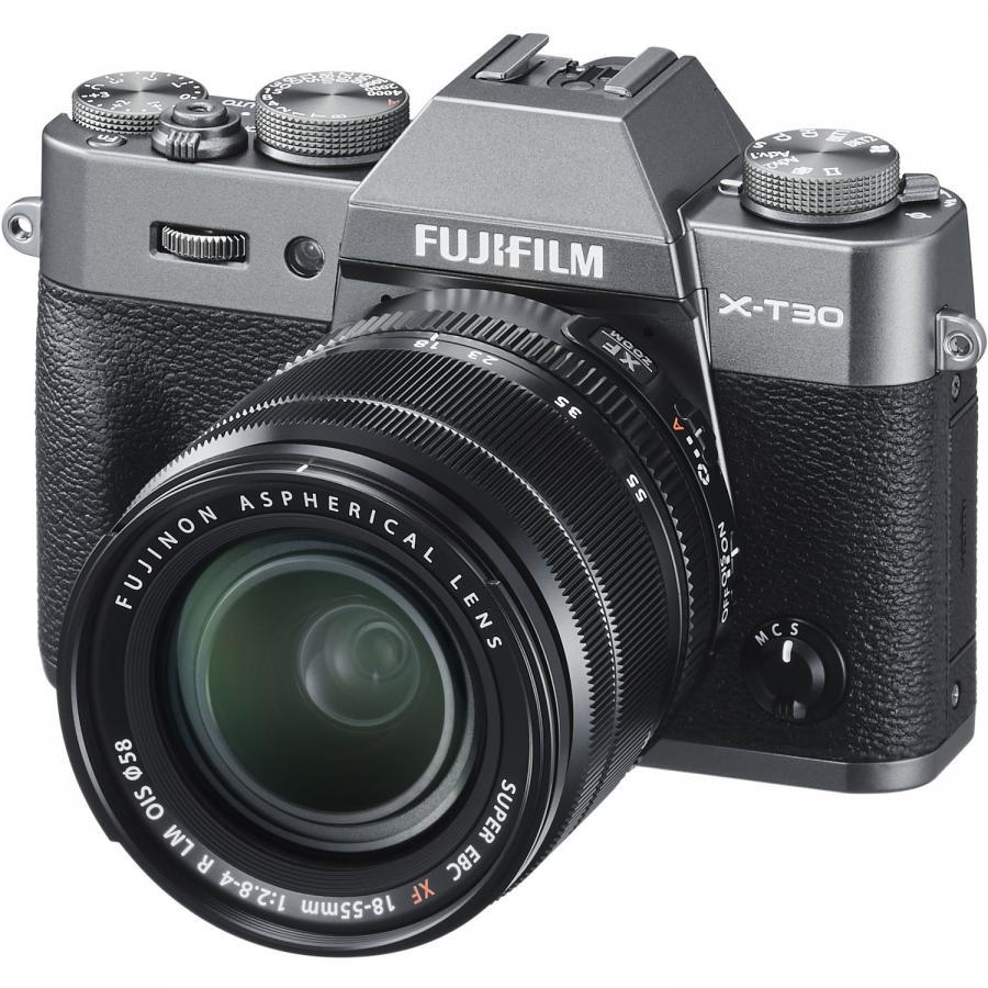 Fujifilm X-T30 + Fujinon XF 18-55mm f/2,8-4 R LM OIS, Antracitové