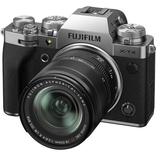 Fujifilm X-T4 + Fujinon XF 18-55mm f/2.8-4 R LM O.I.S.,Strieborný