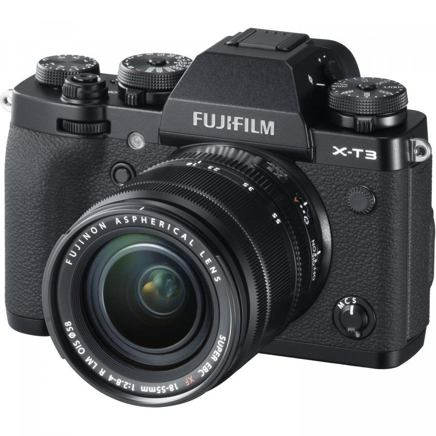 Fujifilm X-T3 + Fujinon XF 18-55mm f/2.8-4 R LM O.I.S., Čierny