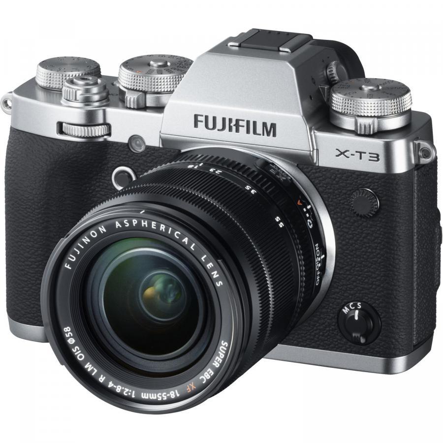 Fujifilm X-T3 + Fujinon XF 18-55mm f/2.8-4 R LM O.I.S.,Strieborný
