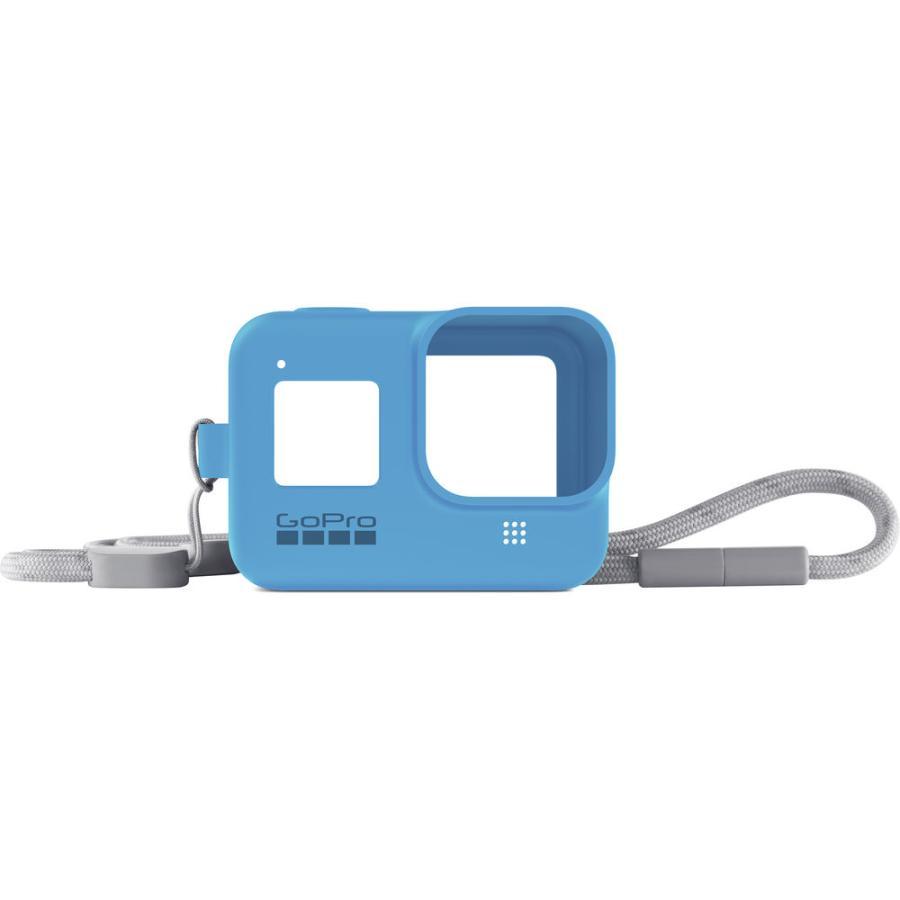 GoPro Sleeve + Lanyard modry (gumený obal a putko na krk) HERO8