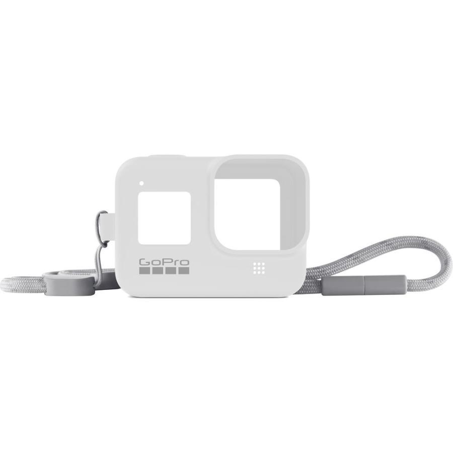 GoPro Sleeve + Lanyard biely (gumený obal a putko na krk) HERO8