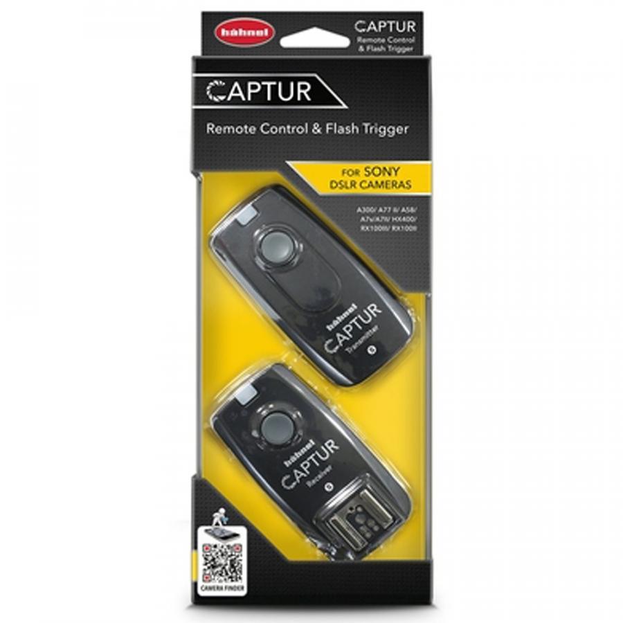 Hähnel CAPTUR Remote Sony - diaľková spúšť DSLR + diaľková spúšť blesku Sony