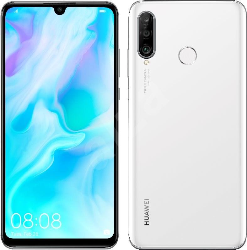 Huawei P30 Lite, Pearl White