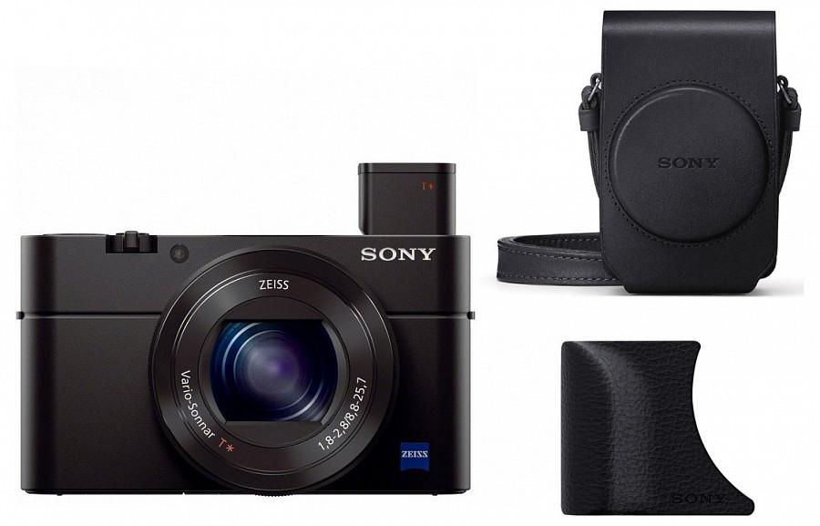 Sony Cyber-Shot DSC-RX100 Mk.III + AG-R2 + LCS-RXG