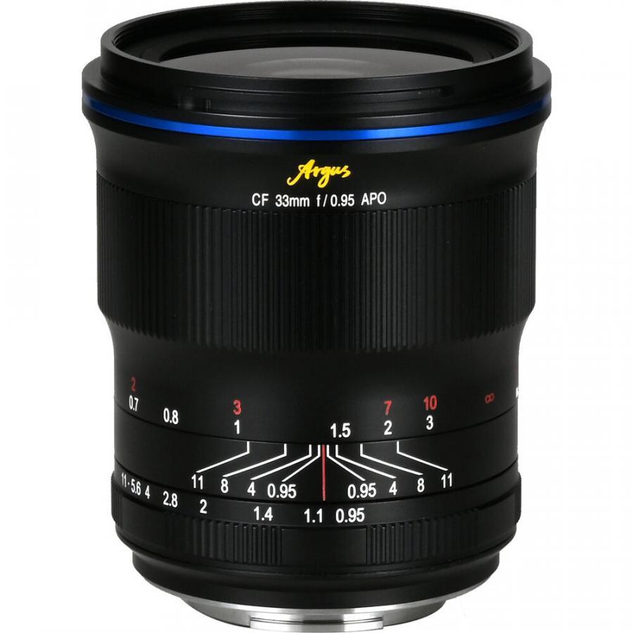 Laowa Argus 33 mm f/0,95 CF APO baj. Sony E