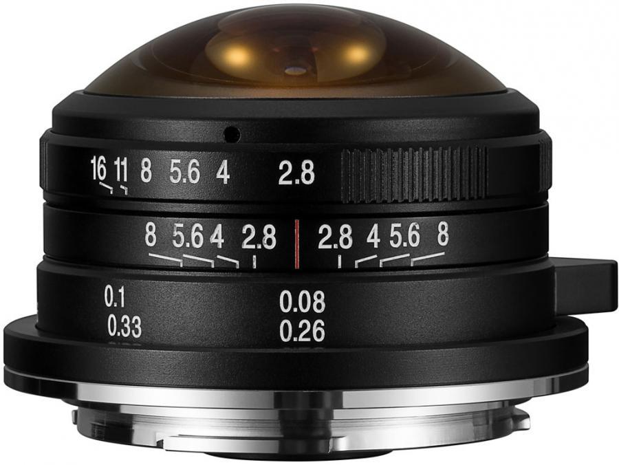 Laowa 4 mm f/2,8 Fisheye baj. Sony E