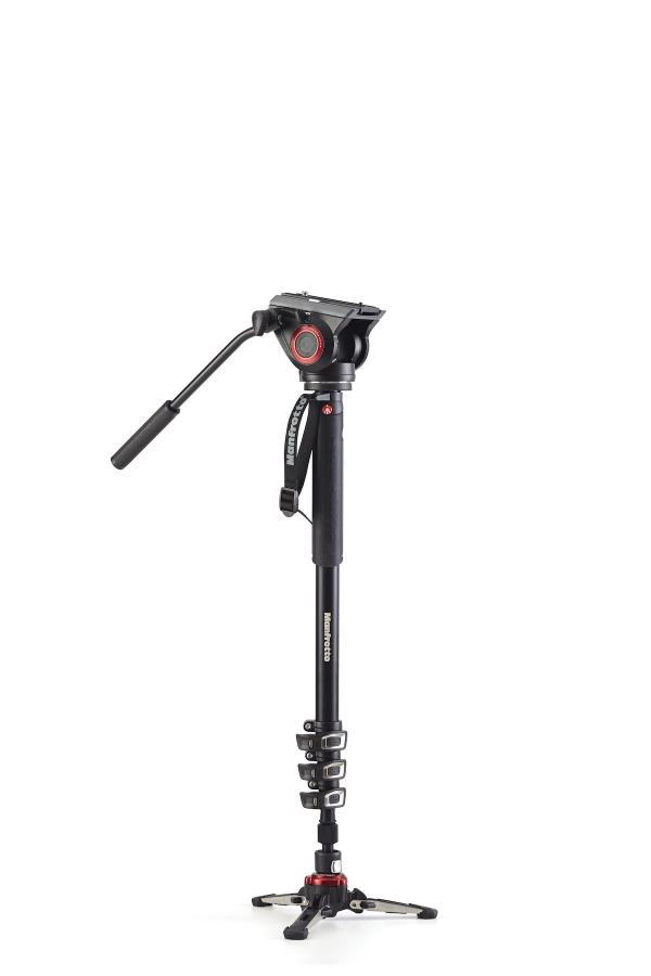 Manfrotto MVMXPRO500, fluidný video monopod