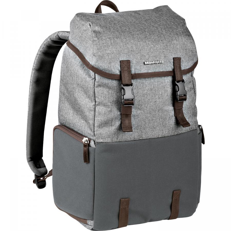 Manfrotto Windsor Explorer Camera a Laptop Backpack pre DSLR ((šedý)