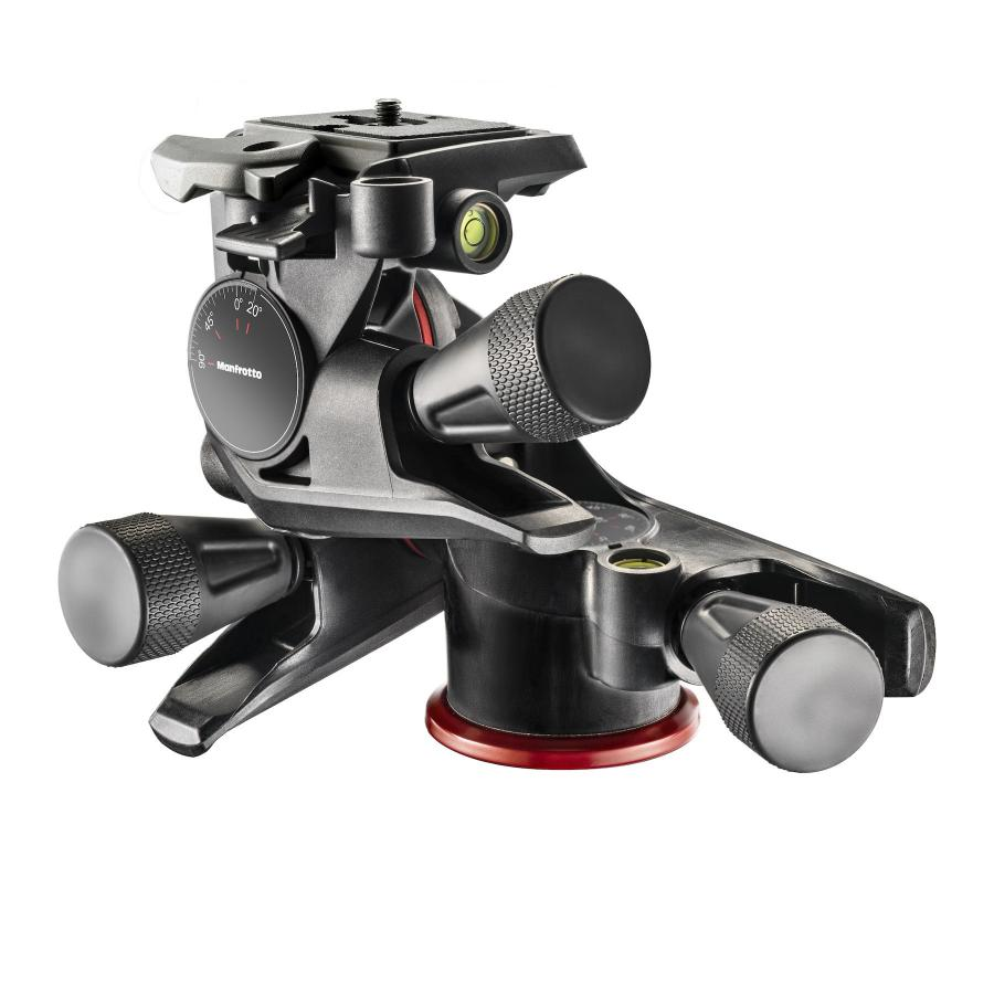 Manfrotto XPRO Geared Three-way pan/tilt tripod head