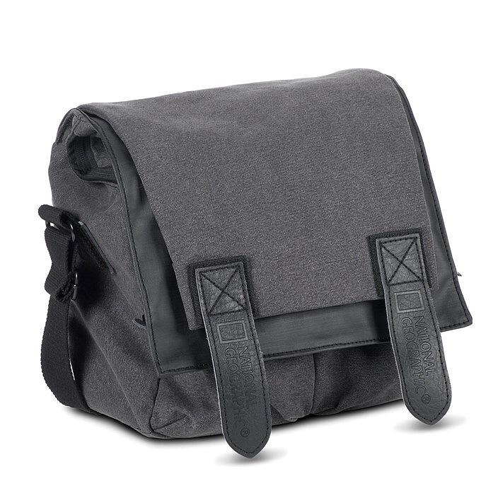 """National Geographic W2141 Foto taška na rameno + 9""""NTB, tmavá šedá"""