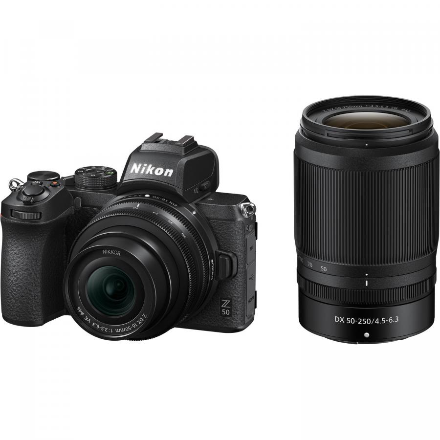 Nikon Z50 + Nikkor Z DX 16-50 mm f/3,5-6,3 VR + Nikkor Z DX 50-250 mm f/4,5-6,3 VR