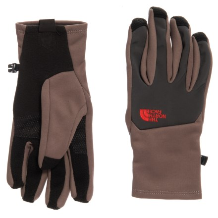 North Face Denali Etip Glove Falkon Brown M Pánske rukavice, Hnedé