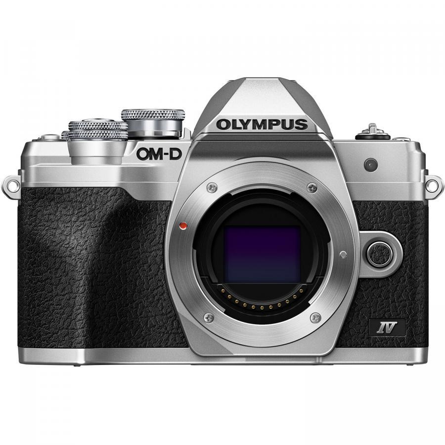 Olympus OM-D E-M10 Mk. IV (Telo) Strieborné