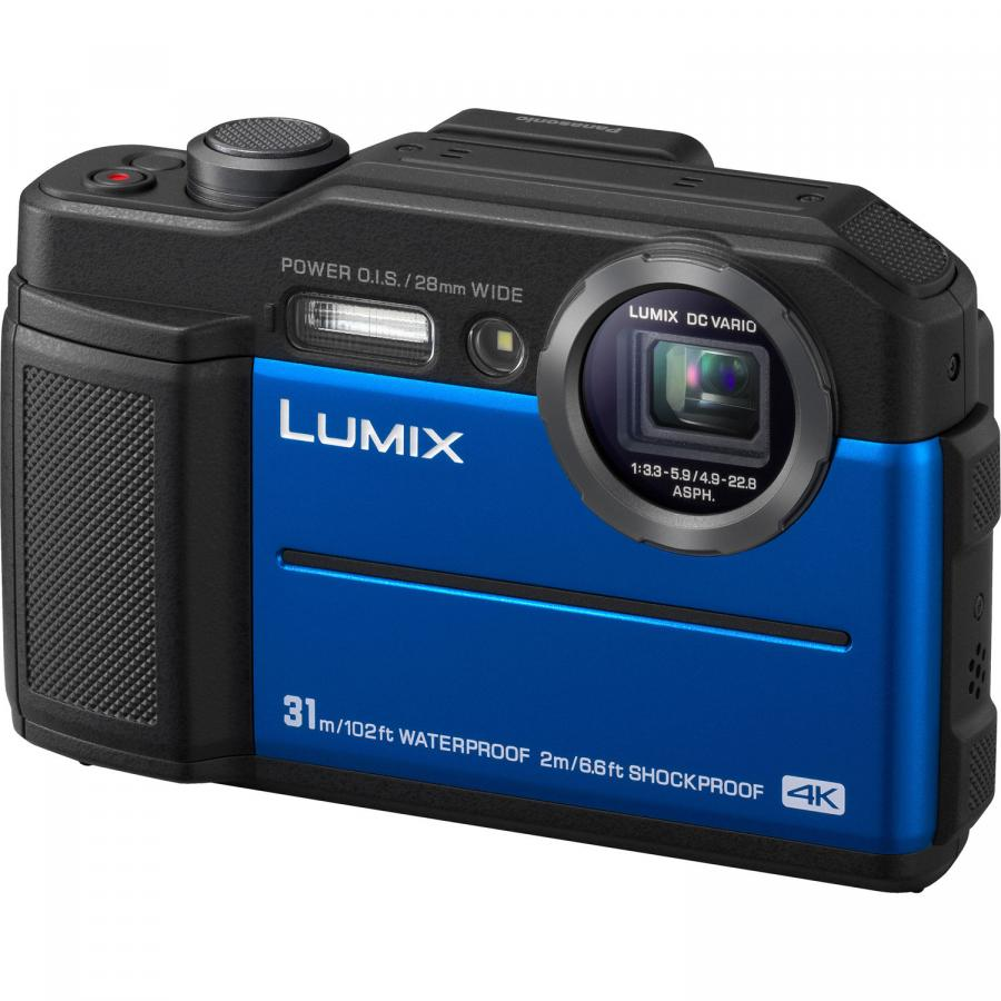 Panasonic Lumix DMC-FT7, Modrý