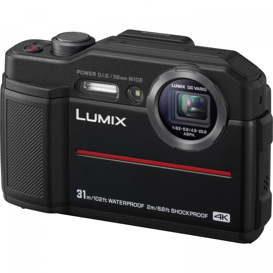 Panasonic Lumix DMC-FT7, Čierny