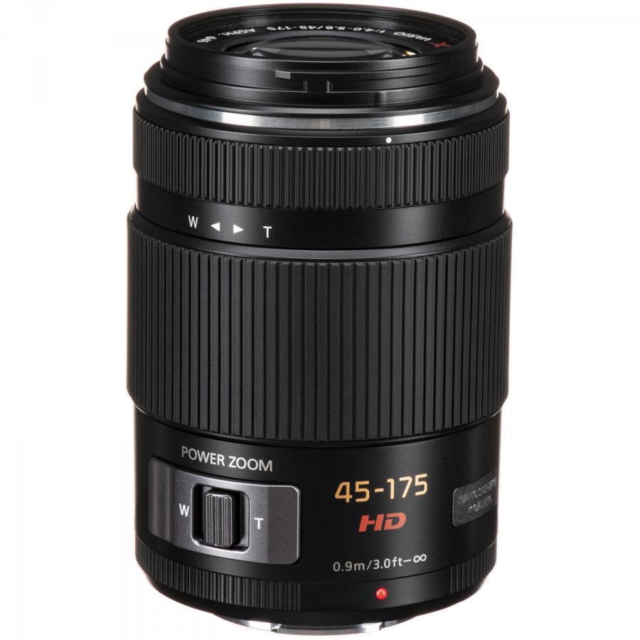 Panasonic Lumix G X Vario PZ HD 45-175mm f/4-5,6G ASPH. Power O.I.S. čierny