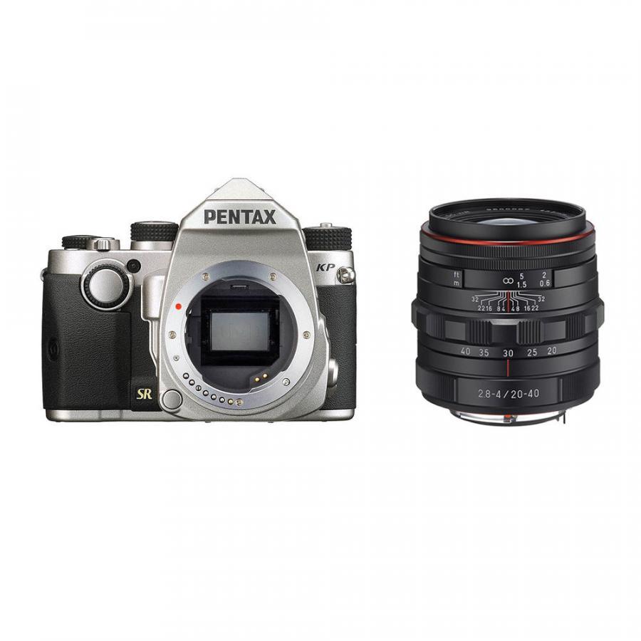 Pentax KP + Pentax DA 20-40mm F2.8-4 ED DC WR, Strieborné